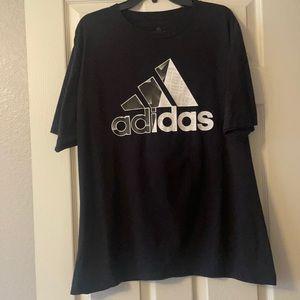 ADIDAS men's size XL t-shirt 3 stripes brand sport